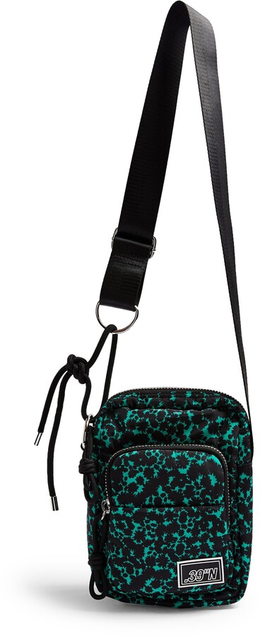 TOPSHOP  RRP £32 Rue Black Cross Body Bag black WITH TAGS