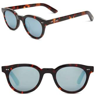 Toms 47mm Fin Round Sunglasses