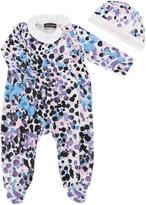 Roberto Cavalli printed pyjamas - kids - Cotton/Spandex/Elastane - 3 mth