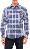 Tailor Vintage Long Sleeve Indigo Shirt
