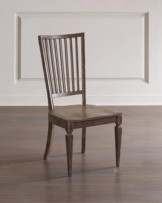 Hooker Furniture Woodlands Wood Back Side Chairs, Set of 2