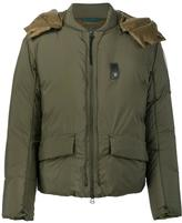 Oamc 'Compression' jacket - men - Polyamide/Goose Down/Duck Feathers/Polyurethane - L