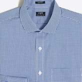 J.Crew Mercantile Mini-gingham flex wrinkle-free dress shirt