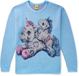 Iggy Unicorns Intarsia Knitted Sweater