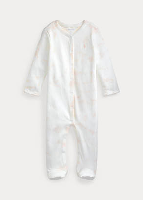 Ralph Lauren Tie-Dye Footed Coverall