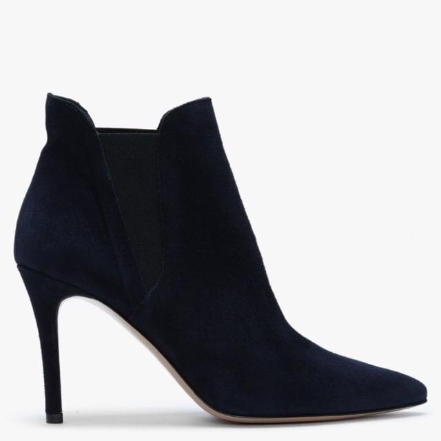 Daniel Adril Blue Suede Ankle Boots