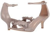 Pelle Moda Imee (Dark Taupe Shimmer Suede) Women's Shoes