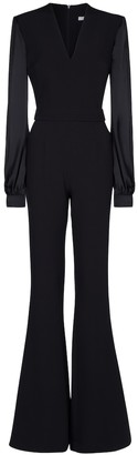 Safiyaa Stretch-crepe jumpsuit