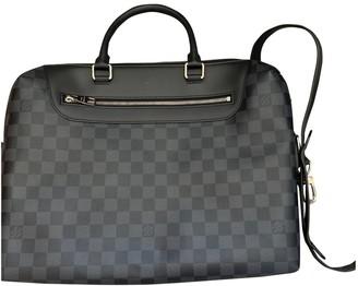 Louis Vuitton Porte Documents Jour Anthracite Cloth Bags