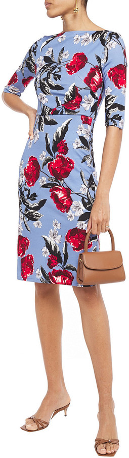 Thumbnail for your product : Erdem Kirsten Floral-print Stretch-jersey Dress