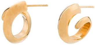 Bottega Veneta Coil Earrings
