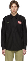 Wacko Maria Black Work Shirt