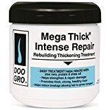 Doo Gro Mega Thick Rebuilding Thickening Treatment, Intense Repair, 16 oz (Pack of 6)