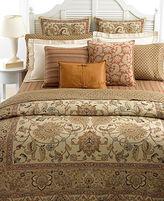 Lauren Ralph Lauren CLOSEOUT! Bedding, Northern Cape Foulard Rust King Flat Sheet