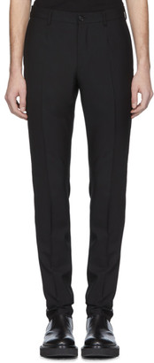 Versace Black Swarovski Evening Trousers