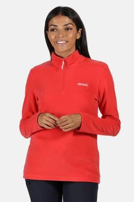 Regatta Womens Sweetheart Half Zip Fleece - Red