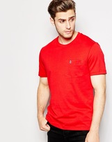 Original Penguin Chest Pocket T-shirt - Red