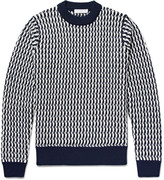 Sandro - Cable-knit Wool Sweater
