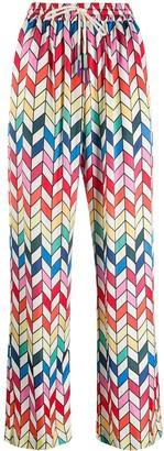 Mira Mikati Geometric Print Trousers