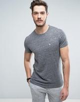Jack Wills Ayleford Logo Pocket Slim Fit T-shirt In Grey Marl