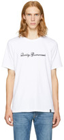 Rag & Bone White 'Quality Guaranteed' T-Shirt