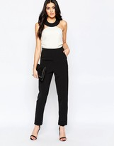 Paper Dolls Halterneck Jumpsuit in Monochrome