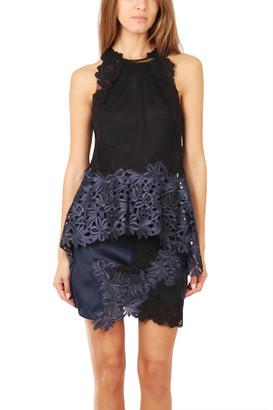 3.1 Phillip Lim Sleeveless Floral Lace Tank