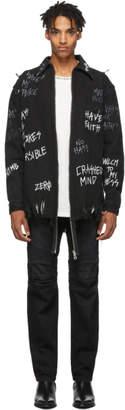 Faith Connexion Black NTMB Edition Zip-Up Jacket