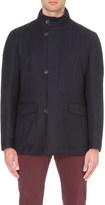 Corneliani Hooded wool jacket