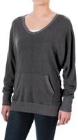 Allen Allen Two-Pocket Sweater (For Women)