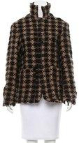 Marni Wool Patterned Jacket
