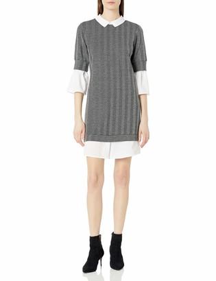 Sharagano Women's 2fer Sweater