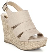 Fergalicious Valentina Canvas Wedge Sandal