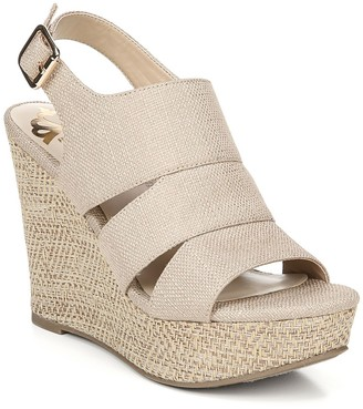 Fergalicious Valentina Canvas Wedge Sandal