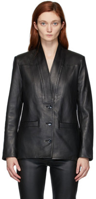 Won Hundred Black Alberta Leather Jacket