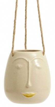 Nordal - Face Hanging Planter