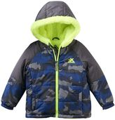 ZeroXposur Toddler Boy Midweight Sherpa-Lined Camouflage Transitional Jacket