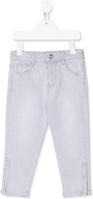 Billieblush Slim Zipped-Cuff Jeans