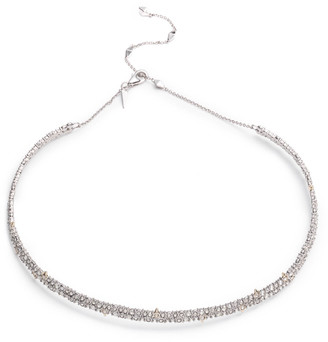 Alexis Bittar Encrusted Spike Choker Necklace