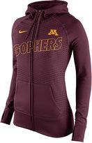 Nike Women's Minnesota Golden Gophers Performance Full-Zip Hoodie