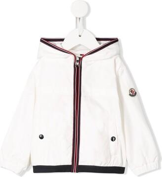 Moncler Enfant Anton stripe detailed jacket