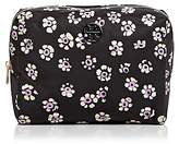 Tory Burch Brigitte Printed Large Nylon Cosmetics Case