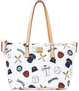 Dooney & Bourke MLB Mariners Zip Top Shopper