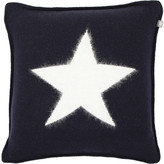 Gant Angora Big Star Knit Cushion - Navy - 50x50cm