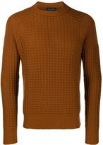 Roberto Collina waffle knit sweatshirt