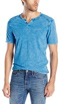 Buffalo David Bitton Men's Narwayned Short Sleeve Henley Shirt