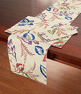 Elrene Home Fashions Harvest Sedona Watercolor Leaf Table Linens