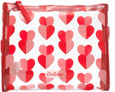 Cath Kidston Mono Hearts Piped Make Up Bag
