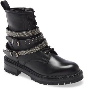Steve Madden Captain Buckle Boot