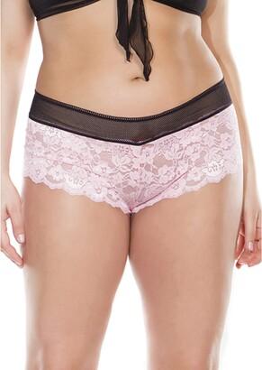 Coquette Women's Plus Size Diva Booty Short